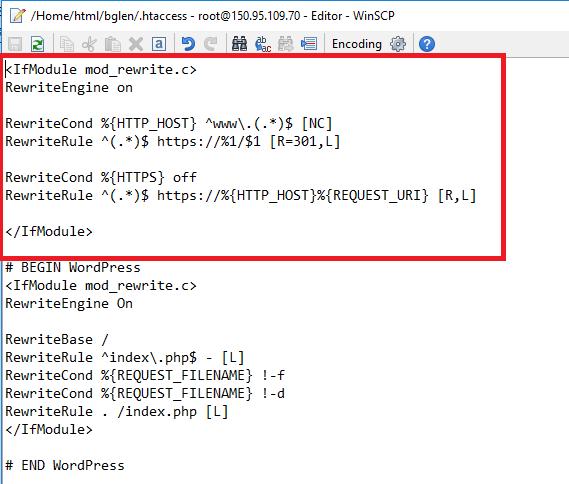 Việt Vang - redirect url có www về url không có www, và http